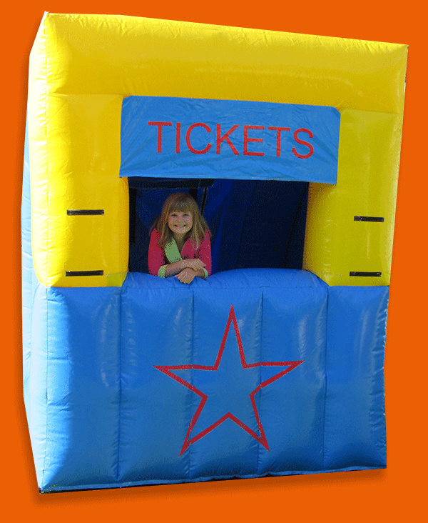 Tauranga Party Hire - Ticket Booth