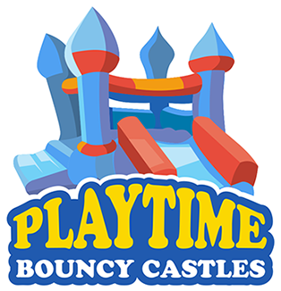 Bouncy Castle Hire Rotorua - Playtime Bouncy Castles Logo
