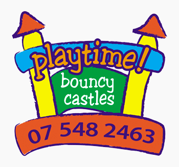 Bouncy Castle Hire Tauranga - Playtime Bouncy Castles Logo