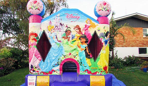 Rotorua Party Bouncy Castles - Disney Princess Bouncy Castle