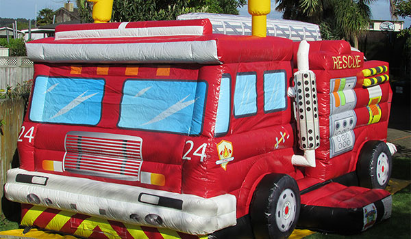 Tauranga Party Bouncy Castles - Firetruck