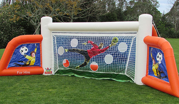 Tauranga Party Bouncy Castles - Goal Post