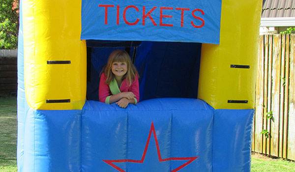 Tauranga Party Bouncy Castles - Play Ticket Booth