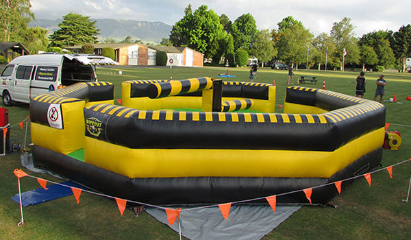 Rotorua Party Bouncy Castles - Wipeout Jumping Game