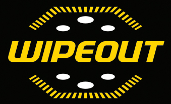 Party Hire Tauranga - Black Wipeout Logo